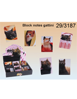 BLOCK NOTES GATTINI